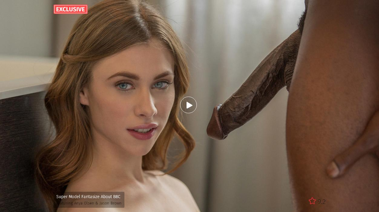 BlackED – Super Model Fantasize About BBC Featuring – Anya Olsen & Jason Brown
