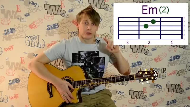 Обучение игре на гитаре (урок3)как быстро переставлять аккорды использовать разные бои_ нам с тобой