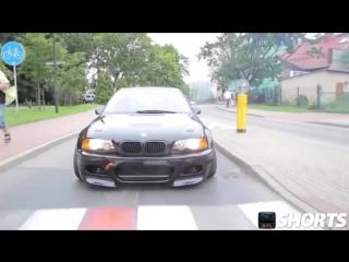 BMW - Красивый дрифт по городу