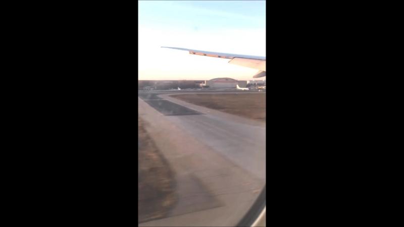 B777-300ER посадка Шереметьево, март 2015