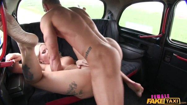 FemaleFakeTaxi Jarushka – Big Tits Blonde Fucks her Passenger