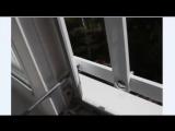 Установка решёток на окна от выпадения детей