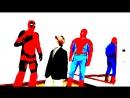 человек-паук - паутина-из-рук. сказка про супергероев (теремок)
