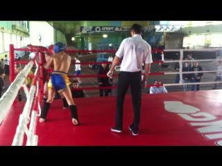 Міша 2 раунд 54 кг лоу-кік фінал ЧУ