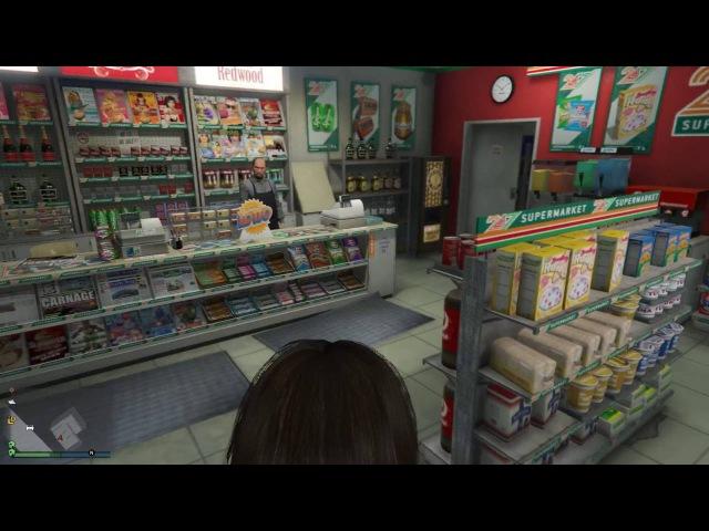 Ограбление магазина по новому - (podlodka and Mr.TwisterS) - GTA 5 Online (ПК)