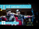 Rick van den Oever v Brady Ellison Recurve Men's Bronze Final Nimes 2016