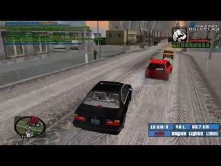 GTA: Криминальная Россия (По сети) #2 - Покатушки на Бумере!