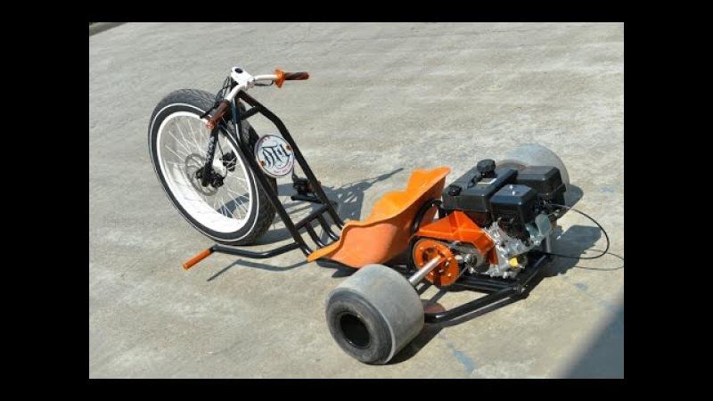 Motorised Drift Trike - Lovett Industries - FAT DRIFTER Assembly Video