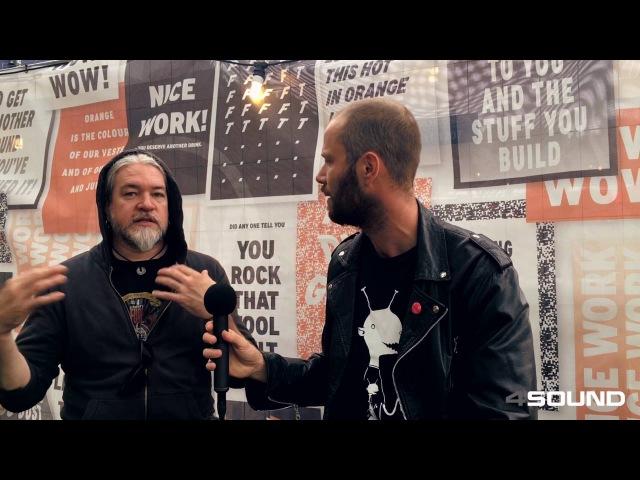 4Sound My Gear Roskilde Festival - Tomas Haake of Meshuggah