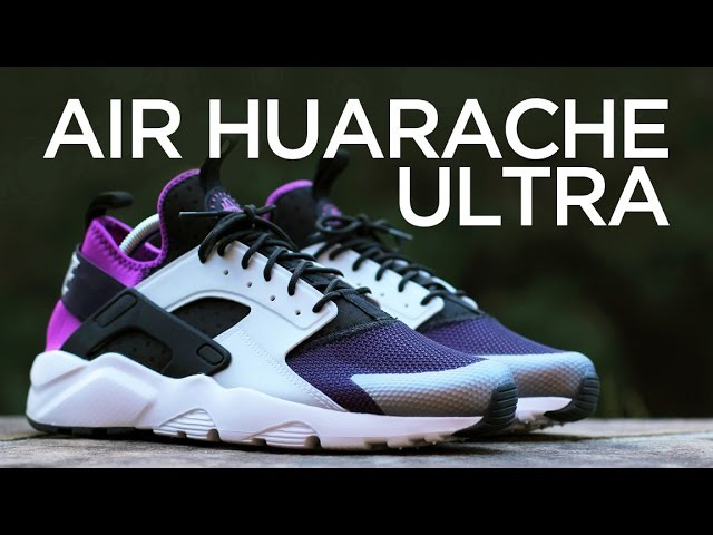 Closer Look: Nike Air Huarache Ultra - Hyper Violet