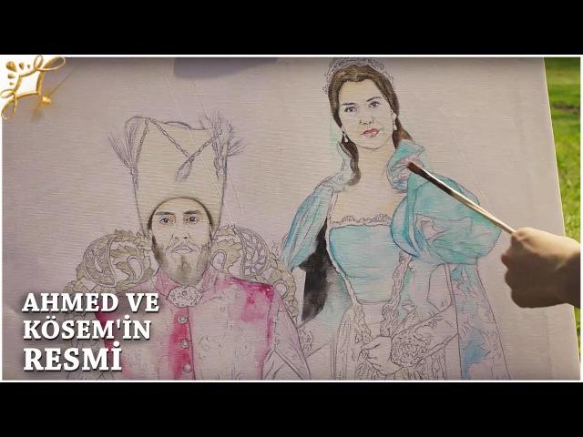 Muhteşem Yüzyıl Kösem 22.Bölüm | Ahmed ve Kösemin resmi