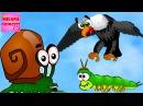Детская игра про улитку Snail Bob 2 или Улитка Боб 2. Мультик игра для малышей! Часть 1