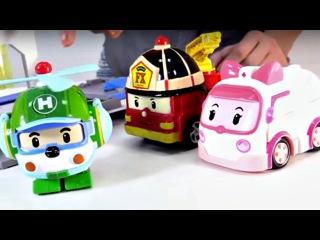 Harika oyuncaklar - Robocar Poli ve kurtarma ekibi - Helikoptere yardım etmeliyiz