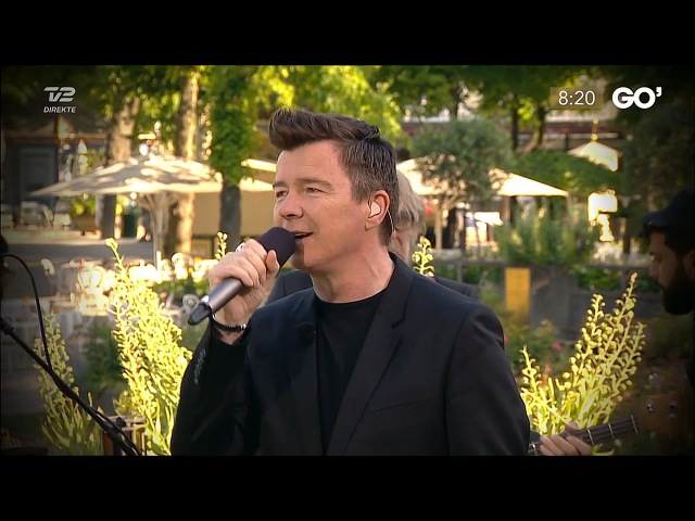 Rick Astley: Never Gonna Give You Up - GO' TV2 - 2016