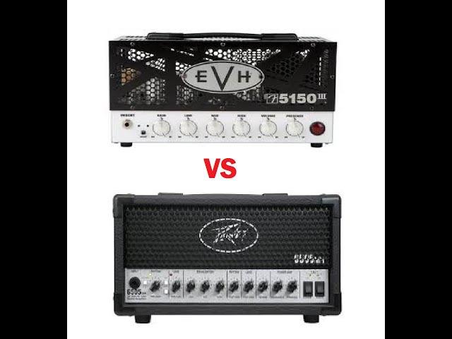 EVH 5150III LBX mini amp vs Peavey 6505 Mini amp