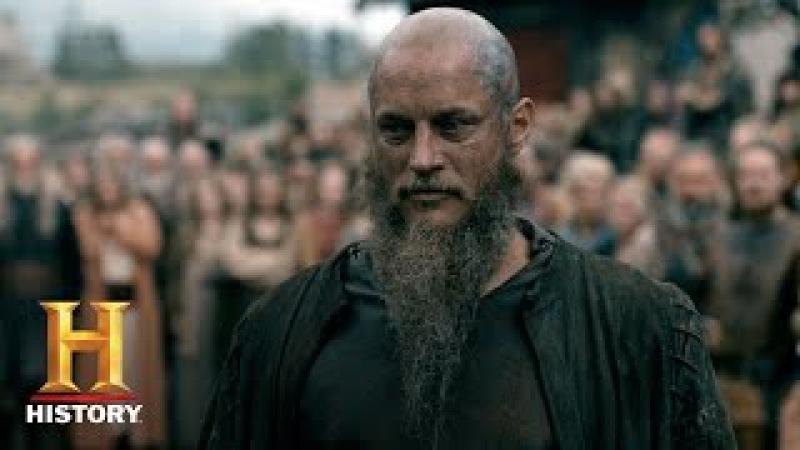 Vikings Ragnar Returns to Kattegat (Season 4, Episode 10) | History