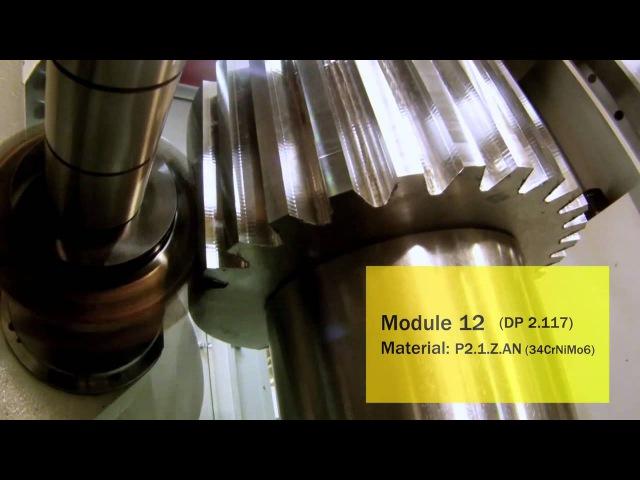 Нарезание прямозубого цилиндрического колеса дисковой фрезой