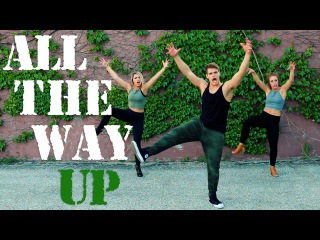All the Way Up - Fat Joe Remy Ma FatJoeDanceOn | The Fitness Marshall | Cardio Dance