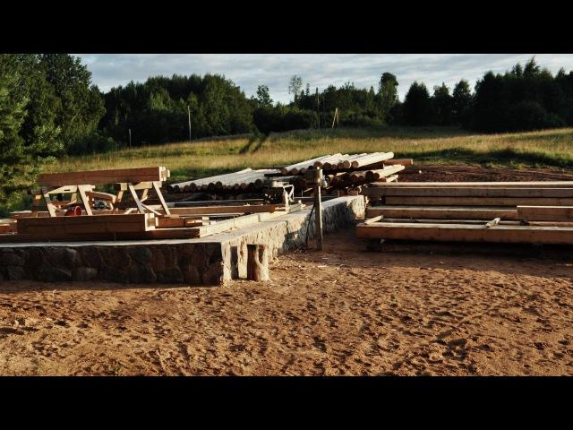 Рождение деревянного дома