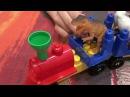 Поезд динозавров все серии подряд на русском. Мультик с игрушками из мультфильма моего много серий