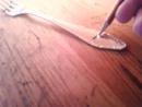 Гравировка графитовым карандашом по металлу