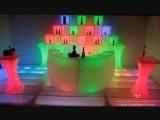 Наша работа - Мебель с подсветкой Пермь, аренда световая мебель, светящаяся мебель аренда киев, светящиеся кубы прокат, выездной