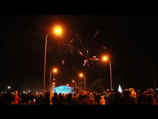 Фейерверк в Павлодаре 16.12.2015