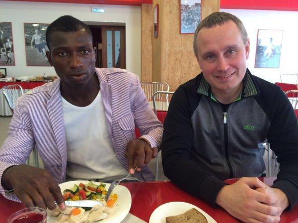 17-летний форвард сборной Ганы U-20 находится на просмотре в «Спартаке»