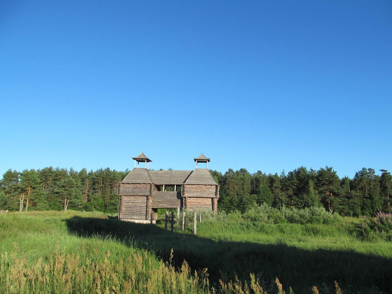деревянные башни
