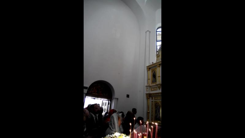 фрагмент Литургии в храме свв.равноапп.царей Константина и Елены 3его июня