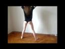 School#3: школьница танцует тверк, танец попой одноклассницы, большая попа, эротика