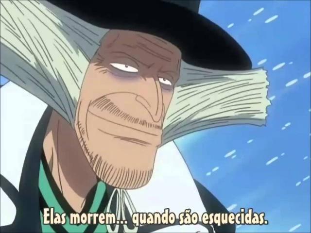 One Piece - Quando vocês acham que as pessoas morrem