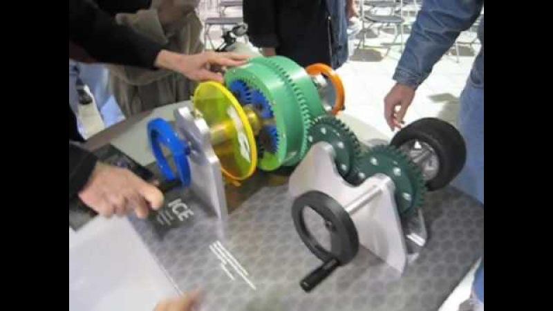 Model of Toyota Hybrid Synergy Drive