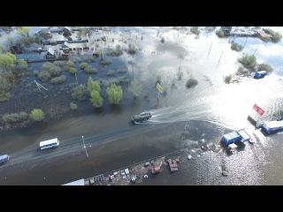 Паводок в Кургане 25.04.2016