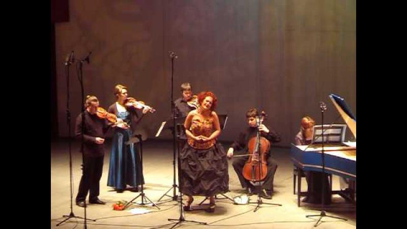 Simona Kermes soloists of Pratum Integrum 12 Haendel Lascia cio pianga