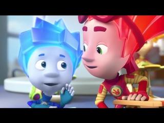 Фиксики - Огнетушитель - мультфильм - Все серии подряд в альбоме