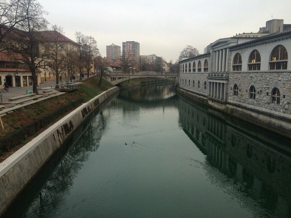 Река Люблянка.