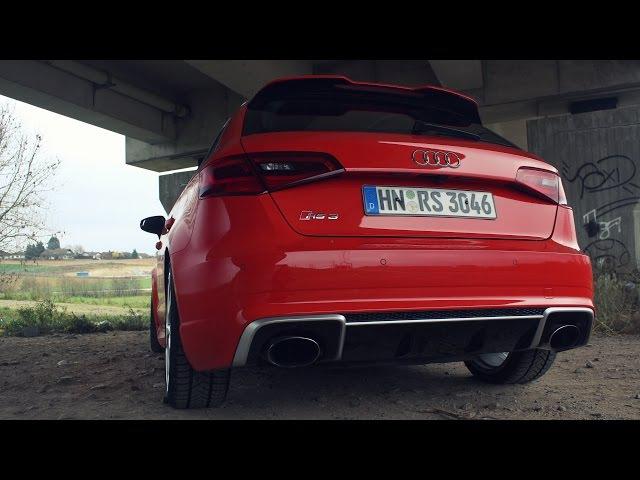 ' 2015 / 2016 AUDI RS3 Sportback (8V) ' Test Drive Review - TheGetawayer