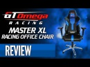 GT Omega Racing MASTER XL Gaming Office Chair Review!