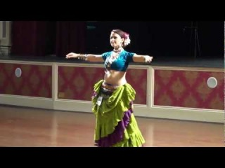 Barbara Giannantoni - 1st Place Bellydance American Tribal Style Solo 2012