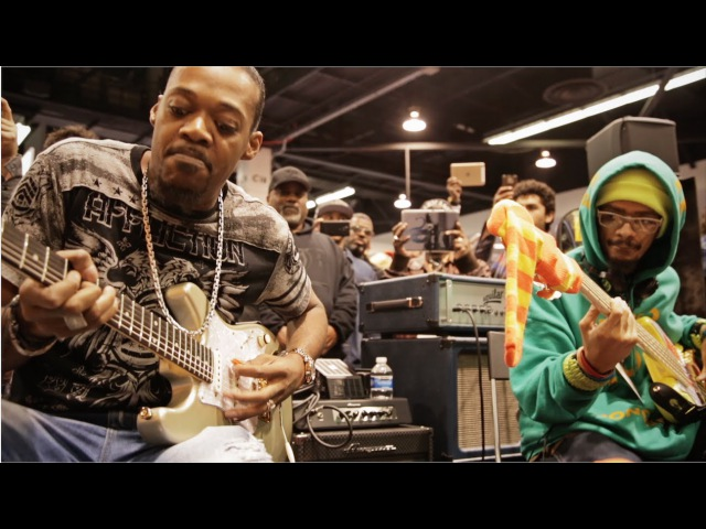 NAMM 2016 Eric Gales Mono Neon Live At The Dunlop Booth