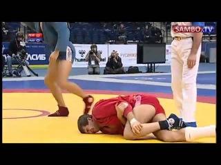 Sambo Worlds Final Куржев vs Попов (2011) [bestfight.ru]