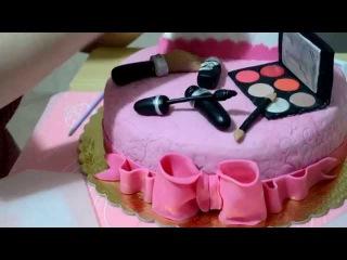Как сделать торт ВСЕ ДЛЯ МАКИЯЖА Jak zrobić tort WSZYSTKO DO MAKIJAŻU