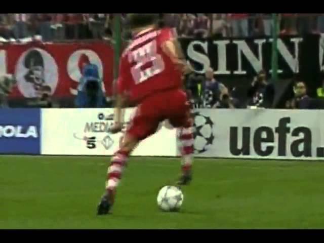 Final Liga Champions UEFA 2001,Bayern Muenchen 1 1 Valencia,Bayern win 5 4 on penalties