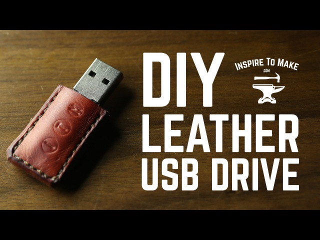 DIY Projects - Leather USB drive