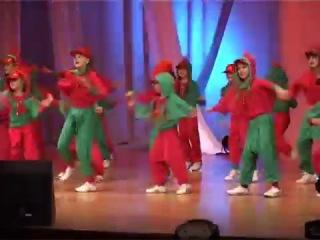 Супер танец. Петушиная компания - исполняет ансамбль танца Искорка