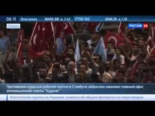 В Турции новые акции протеста