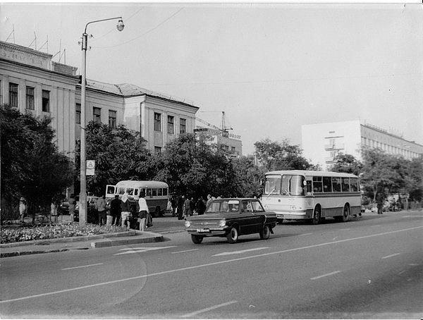 Гостиница «Элиста». 1974 год