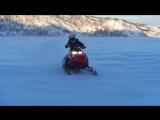 Активный отдых. Езда на снегоходе. 06.02.2016