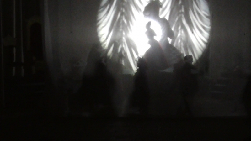 театр Галины Рымановой ( отрывок из спектакля ТЕНЬ )